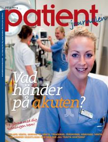 Egen tidning till patienterna på akuten