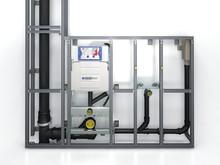 Stor efterfrågan på Geberits installationsväggar för badrum - Enkelt och kostnadseffektivt vid nybyggnation och renovering.