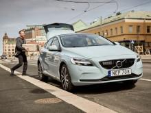 Nu kan du få varor överlämnade direkt till bilen i unikt samarbete mellan urb-it och Volvo Cars