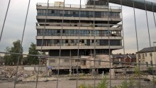 ​Final clear-up of former police HQ on its way