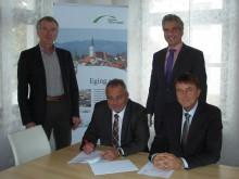 Für weitere 20 Jahre: Eging am See verlängert den Konzessionsvertrag über die Erdgasversorgung mit dem Bayernwerk.