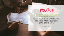 Share experiences in getting customers to pay your invoices on time. Slots are limited! RSVP now.