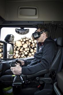 Säker lastning i skogen med HiVision