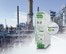 Active Redundancy Modules and Diodes for the Process Industry