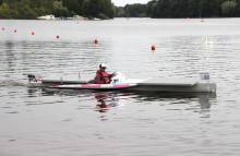 """Triple geschafft! Team der TH Wildau siegte mit dem Eigenbau """"SUNcaTcHer"""" auch bei der dritten internationalen Solarboot-Regatta des Jahres"""