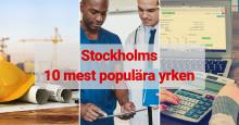 De 10 populäraste yrkena i Stockholm