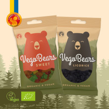 Nyhet i EKO och Vegan hyllan – Candy Peoples VegoBears!
