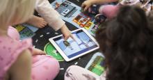 100 av Sveriges kommuner arbetar språkutvecklande i förskolan med det digitala verktyget Polyglutt