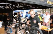 Succé för Continentals däckbesiktning på Cykelvasan