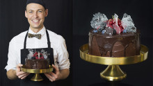 FOOD STYLING – A cake for Lady Gaga