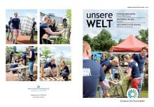 """Nachhaltigkeitsmagazin """"Unsere Welt"""" 2016"""