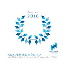 Program akademisk högtid 2016