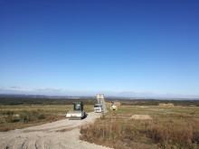 Lancement des travaux de la construction d'une centrale photovoltaïque au sol aux Lauzières (30)
