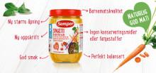 Nye naturlige oppskrifter samt smartere emballasje – nytt fra Semper barnemat!