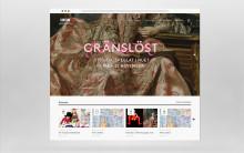 Visuellt och inbjudande på Göteborgs konstmuseums nya webb