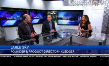 Xledger på Worldwide Business with Kathy Ireland