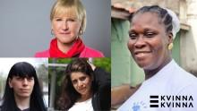 Margot Wallström om kvinnorättsförsvarares utsatthet