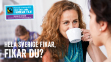 Fairtrade Challenge 2016 – Hela Sverige fikar, fikar du?
