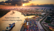 Digital trends in the container shipping industry