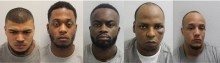 Gang of cash-in-transit robbers who threatened custodians with crowbars jailed