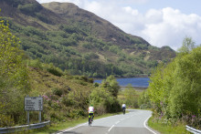 VisitScotland pedals joy of cycling in Highlands