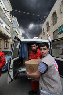 Inbjudan till utdelning av Röda Korsets journalistpris