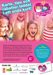 Karlskrona lanserar årets roligaste kort!