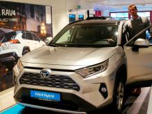 Folke-SUVen RAV4 er klar for lansering i Svolvær