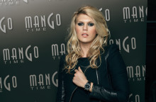 Modell og artist datter ALEXANDRA RICHARDS i Norge for MANGO TIME!