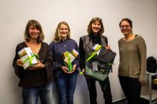 Preisverleihung zum Ideenwettbewerb Nachhaltigkeit 2018