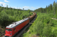 ​Efficient freight with Green Cargo's new Co-Co locomotive