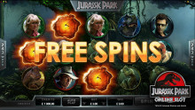 Jurassic Park Cinematic Slot Game launches at LuckyWinSlots.com on 6th August