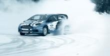 Ford Fiesta ST i rallycrossversion möter svenska snögubbar i Ford Racing-film