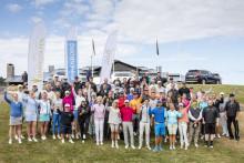Fantastiskt resultat när välgörenhetstävlingen Barngolfen samlade in 3,5 miljoner kronor till Drottning Silvias barn- och ungdomssjukhus