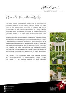 Spätsommer-Romantik im gemütlichen Cottage-Style