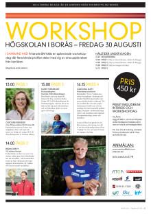 Glöm inte att anmäla er senast 27 augusti till Friidrotts-SM2013 tävlingar & workshop 30 aug