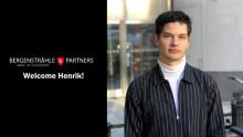Henrik Carlsson är ny jurist hos Bergenstråhle & Partners!