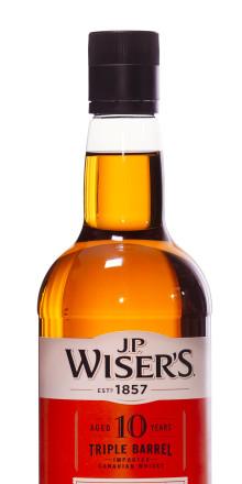 Nyhet på hyllan - 10-årig Tripple Barrel från J.P. Wiser's