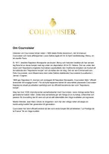 Om Courvoisier och cognac