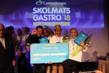 Nannaskolan vinnare i SkolmatsGastro 2018