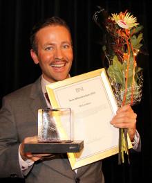 Ola Lauritzson vinner pris som Årets Affärsnätverkare 2012