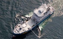 Kustbevakningen gästar Kalmar Båtmässa med stort kombinationsfartyg