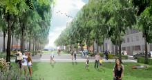 Veidekke bygger parkeringshus i Hagastaden