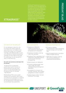 XtraGrass - produktblad