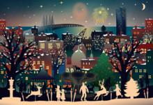 Julmarknad och julaktiviteter i Malmö city stängda idag