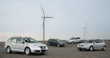 Bränsleffektiva bilar i fokus: Volkswagen lanserar BlueMotion-offensiv i Frankfurt