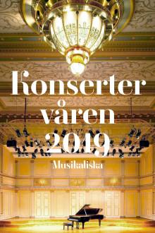 Konserter våren 2019 Musikaliska
