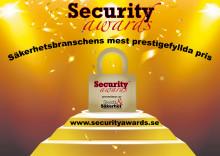 Finalisterna klara för Security Awards 2016