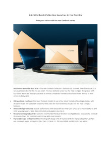 ASUS Zenbook Collection ENG