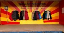 Wall of Kindness tillbaka i Kristianstad